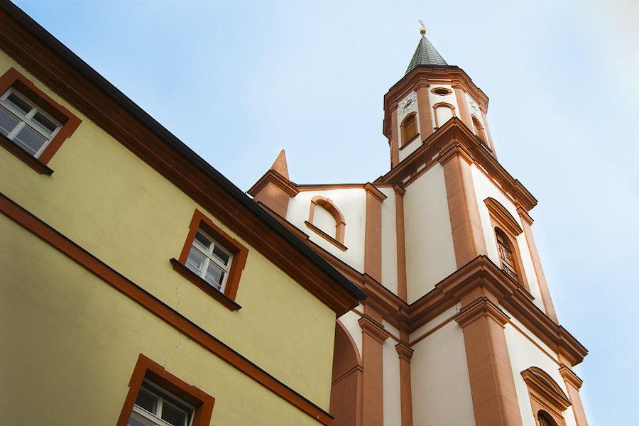 Die Karmelitenkirche in Straubing.